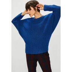 Medicine - Sweter Royal Purple. Fioletowe swetry oversize damskie MEDICINE, l, z dzianiny. W wyprzedaży za 71,90 zł.