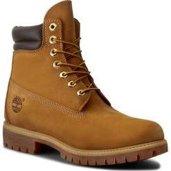 Trapery TIMBERLAND - 6 In Boot 73540/TB0735402311 Wheat. Brązowe glany męskie marki Timberland, z gumy. W wyprzedaży za 549,00 zł.