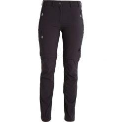 Bryczesy damskie: Mammut RUNJE ZIP OFF  Spodnie materiałowe graphite
