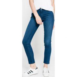 Tommy Hilfiger - Jeansy Milan. Niebieskie jeansy damskie relaxed fit marki TOMMY HILFIGER, z bawełny. W wyprzedaży za 299,90 zł.