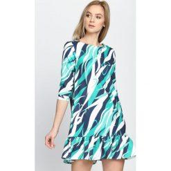Sukienki: Zielona Sukienka Respect Vogue