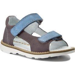 Sandały MIDO - 31-01 Ciemny/Szary. Szare sandały męskie skórzane marki Mido. W wyprzedaży za 149,00 zł.