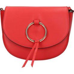 """Torebki klasyczne damskie: Skórzana torebka """"Passy"""" w kolorze czerwonym – 19,5 x 8 x 17 cm"""