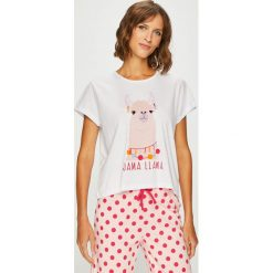 Answear - Piżama. Szare piżamy damskie marki ANSWEAR, l, z bawełny. W wyprzedaży za 99,90 zł.