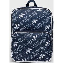 Adidas Originals - Plecak. Szare plecaki damskie adidas Originals, z materiału. W wyprzedaży za 99,90 zł.