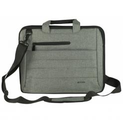 """Accura ProOffice Rafael ACC6064 12,0"""" - 14,0"""" szara. Szare torby na laptopa Accura, w paski, z nylonu. Za 79,90 zł."""