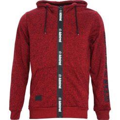 Czerwona Bluza Admiring. Czarne bluzy męskie rozpinane marki Born2be, l, z aplikacjami, z dresówki. Za 99,99 zł.