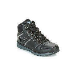 Buty Kangaroos  K BLUE RUN 8023. Czarne buty skate męskie KangaROOS. Za 269,00 zł.