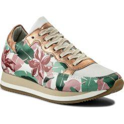 Sneakersy PHILIPPE MODEL - Etoile TBLD CA01 Caraibes Blanc. Szare sneakersy damskie Philippe Model, z materiału. W wyprzedaży za 839,00 zł.
