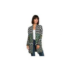 Kardigany damskie: Swetry rozpinane / Kardigany Be  BK007 Kardigan w aztecki wzór - model 2