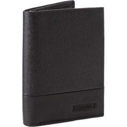 Portfele męskie: Duży Portfel Męski CALVIN KLEIN BLACK LABEL – Adam Ns 8CC + Coin + Pass K50K503166  001