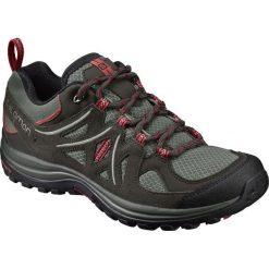 Buty trekkingowe damskie: Salomon Buty damskie ELLIPSE 2 AERO W Castor Gray/Beluga/Mineral Red r. 37 1/3 (394730)