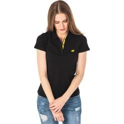 Bluzki damskie: 4f Koszulka polo damska H4L18-TSD017 czarna r. L