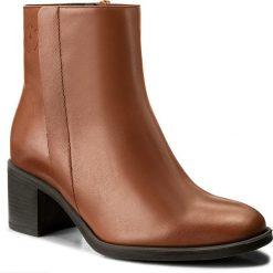 Botki EVA MINGE - Tecla 2E 17GR1372264EF 105. Brązowe buty zimowe damskie Eva Minge, z polaru. W wyprzedaży za 299,00 zł.