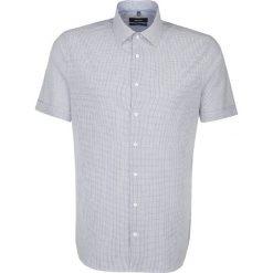 Koszule męskie na spinki: Koszula – Tailored – w kolorze biało-granatowym
