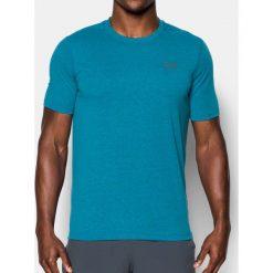 Under Armour Koszulka męska Threadborne Fitted 3C SS niebieska r. S (1289591-953). Szare koszulki sportowe męskie marki Under Armour, l, z dzianiny, z kapturem. Za 99,95 zł.
