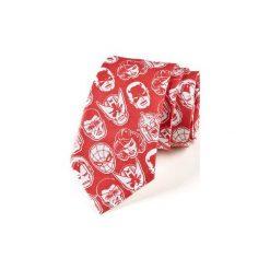 Krawat męski  AVENGERS. Niebieskie krawaty męskie HisOutfit, z motywem z bajki, z materiału. Za 129,00 zł.