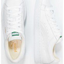 Puma BASKET CLASSIC Tenisówki i Trampki white. Białe trampki męskie Puma, z materiału. Za 339,00 zł.