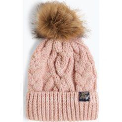 Superdry - Czapka damska, różowy. Szare czapki damskie marki Superdry, l, z tkaniny, z okrągłym kołnierzem, na ramiączkach. Za 129,95 zł.