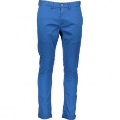 Spodnie chino - Skinny fit - w kolorze niebieskim. Niebieskie chinosy męskie marki Ben Sherman, z aplikacjami, z materiału. W wyprzedaży za 173,95 zł.