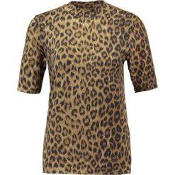 T-shirty damskie: Karen by Simonsen PASTILLE TURTLENECK Tshirt z nadrukiem brown