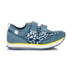 Buciki niemowlęce chłopięce: KYLIE Buty dziecięce DESTANEE niebieskie r. 33 (83358)