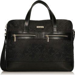 Torby na laptopa: Czarna torba na laptopa