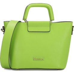 Torebki klasyczne damskie: Zielona torebka damska