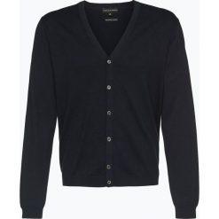 Finshley & Harding - Sweter męski – Pima-Cotton/Kaszmir, niebieski. Niebieskie swetry rozpinane męskie Finshley & Harding, m, z bawełny. Za 179,95 zł.