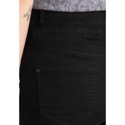 New Look HIGHWAIST  Jeans Skinny Fit black. Czarne jeansy damskie marki New Look, z materiału, na obcasie. Za 139,00 zł.