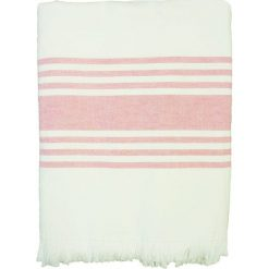 """Kąpielówki męskie: Fouta """"Karabouk"""" w kolorze jasnoróżowo-białym – 160 x 90 cm"""
