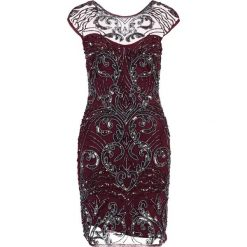 Sukienki hiszpanki: Lace & Beads AUSTIN Sukienka koktajlowa burgundy