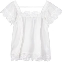 Bluzki asymetryczne: Navy London CELIA Bluzka white