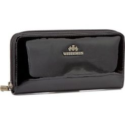 Duży Portfel Damski WITTCHEN - 25-1-393-1 Czarny. Czarne portfele damskie Wittchen, z lakierowanej skóry. Za 379,00 zł.