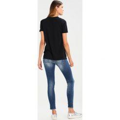 T-shirty męskie: Replay Tshirt z nadrukiem nearly black