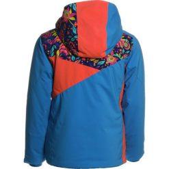 Spyder PROJECT  Kurtka narciarska french blue/frontier large ditz/coral. Niebieskie kurtki dziewczęce sportowe Spyder, z materiału, narciarskie. W wyprzedaży za 575,20 zł.