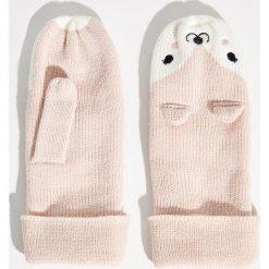 Rękawiczki z jednym palcem - Różowy. Czerwone rękawiczki damskie Sinsay. Za 24,99 zł.
