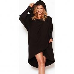 """Sweter """"Czarny kapturek"""" w kolorze czarnym. Szare swetry klasyczne damskie marki Reserved, m, z kapturem. W wyprzedaży za 299,95 zł."""
