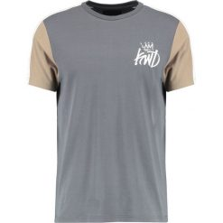 T-shirty męskie z nadrukiem: Kings Will Dream CONTRAST SLEEVES MERT Tshirt z nadrukiem grey