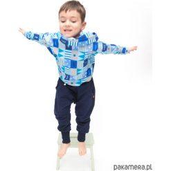 Spodnie granatowe. Szare spodnie dresowe dziewczęce Pakamera, z dresówki. Za 85,00 zł.