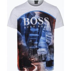 BOSS Athleisurewear - T-shirt męski – Tee 6, szary. Szare t-shirty męskie z nadrukiem BOSS Athleisurewear, m. Za 349,95 zł.