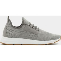 Buty męskie: Szare buty sportowe z elastycznej siateczki