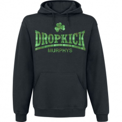 Dropkick Murphys Fighter Plaid Bluza z kapturem czarny. Czarne bluzy męskie rozpinane Dropkick Murphys, l, z kapturem. Za 164,90 zł.