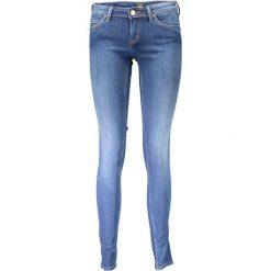 Rurki damskie: Spodnie w kolorze niebieskim