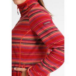 Schöffel BARI Kurtka z polaru rot/grün/pink. Różowe kurtki sportowe damskie Schöffel, z materiału. W wyprzedaży za 335,20 zł.