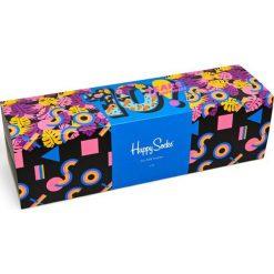 Happy Socks - Skarpetki Year Anniversary Gift Box (komplet). Szare skarpetki damskie Happy Socks, z bawełny. Za 399,90 zł.