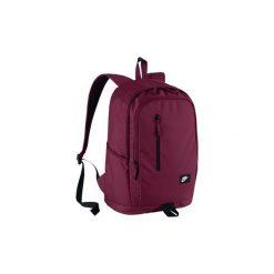 Plecak Szkolny Sportowy Nike Ba4857 Bordowy. Czerwone plecaki męskie Nike, z materiału. Za 129,00 zł.