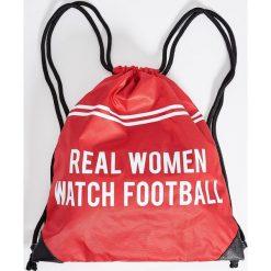 Plecaki damskie: Plecak worek – Czerwony