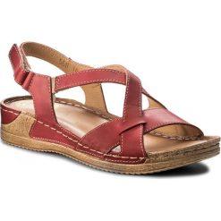 Rzymianki damskie: Sandały WALDI – 0568 Czerwony