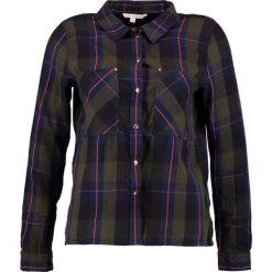 Koszule wiązane damskie: TOM TAILOR DENIM CROPPED BASIC CHECK Koszula green